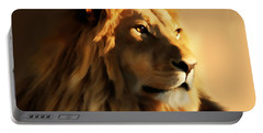 King Lion Of Africa Portable Battery Charger