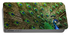 Portable Battery Charger featuring the photograph King Of Birds by Karen Wiles