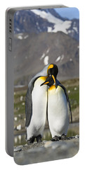 King Penguins Courting St Andrews Bay Portable Battery Charger