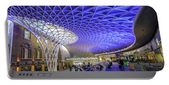 King's Cross Station Portable Battery Charger by Matt Malloy