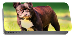 King's Frenchie - French Bulldog Portable Battery Charger