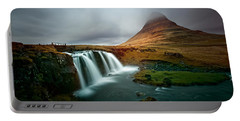 Kirkjufell Portable Battery Charger by Ian Good