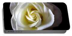 Portable Battery Charger featuring the photograph Kiss Of A Rose by Shana Rowe Jackson