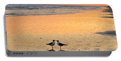 Kissing Birds 2 Portable Battery Charger