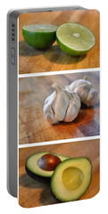 Kitchen Collage Portable Battery Charger