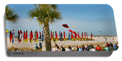 Kite Day At St. Pete Beach Portable Battery Charger