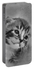 Kitten Just For You Portable Battery Charger