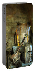 Knight - A Warriors Tribute  Portable Battery Charger by Paul Ward