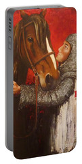 Knight And Horse Portable Battery Charger