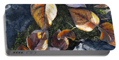 Knik River Autumn Leaves Portable Battery Charger