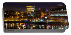 Knoxville Waterfront Portable Battery Charger by Douglas Stucky