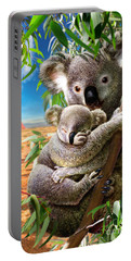 Koala And Cub Portable Battery Charger