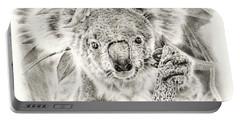 Koala Garage Girl Portable Battery Charger