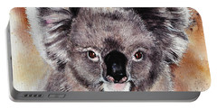 Koala  Portable Battery Charger by Sandra Phryce-Jones