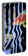 Koi 20 Portable Battery Charger by Pamela Cooper