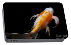 Portable Battery Charger featuring the photograph Koi 3 by Rebecca Cozart