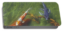 Koi Portable Battery Charger by Daniel Sheldon