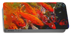 Koi Fish  Portable Battery Charger