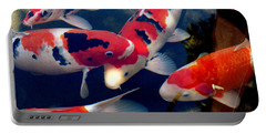koi Portable Battery Charger by Irma BACKELANT GALLERIES