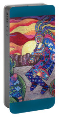 Kokopelli  Portable Battery Charger