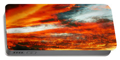 Portable Battery Charger featuring the photograph Kona Sunset 77 Lava In The Sky  by David Lawson