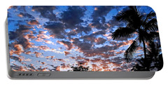 Portable Battery Charger featuring the photograph Kona Sunset by David Lawson