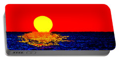 Kona Sunset Pop Art Portable Battery Charger