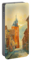 Krakow Florianska Street Portable Battery Charger