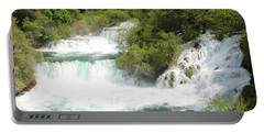 Krka Waterfalls Croatia Portable Battery Charger