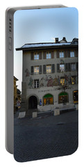 Portable Battery Charger featuring the photograph Kronenplatz by Felicia Tica