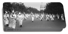 Ku Klux Klan Parade Portable Battery Charger by Library of Congress