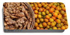 Kumquats And Ginger Portable Battery Charger