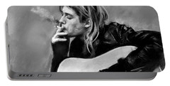 Kurt Cobain Guitar  Portable Battery Charger