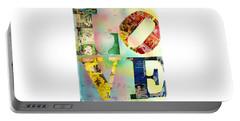 L O V E Portable Battery Charger by Jordan Blackstone