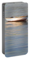 La Barque Au Crepuscule Portable Battery Charger by Jean-Pierre Ducondi