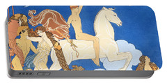 La Cheval Blanc Portable Battery Charger by Georges Barbier