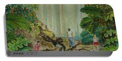 La Coco Falls El Yunque Rain Forest Puerto Rico Portable Battery Charger