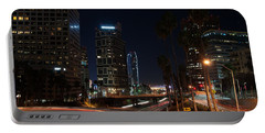 Portable Battery Charger featuring the photograph La Down Town 2 by Gandz Photography
