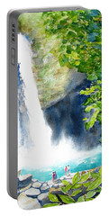 La Fortuna Waterfall Portable Battery Charger by Carlin Blahnik
