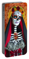 La Muerte Portable Battery Charger