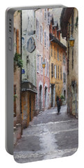 La Pietonne A Annecy - France Portable Battery Charger