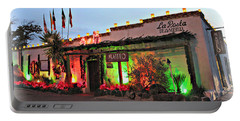 Portable Battery Charger featuring the photograph La Posta De Mesilla New Mexico by Barbara Chichester