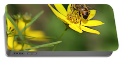 L'abeille Portable Battery Charger by Nikolyn McDonald