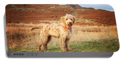 Labradoodle Puppy Portable Battery Charger