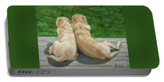 Labrador Lazy Afternoon Portable Battery Charger