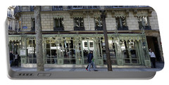 Laderee On The Champs De Elysees In Paris France  Portable Battery Charger by Richard Rosenshein