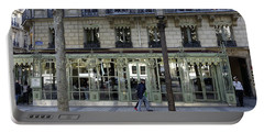 Laduree On The Champs De Elysees In Paris France  Portable Battery Charger