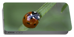 Lady Bug Close Up Portable Battery Charger