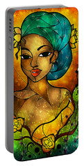 Lady Creole Portable Battery Charger