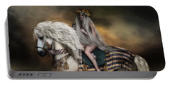 Lady Godiva Portable Battery Charger by Shanina Conway